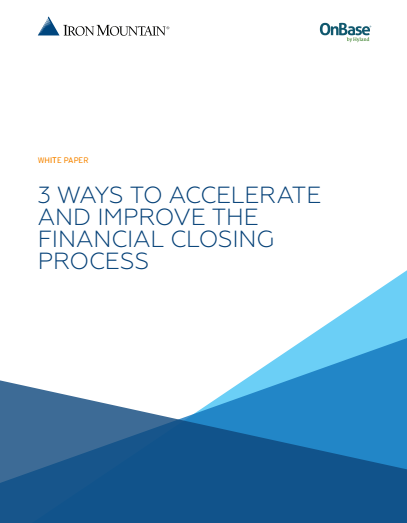 1 4 - 3 Ways to Accelerate and Improve the Financial Closing Process