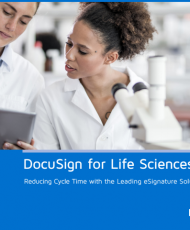 16 190x230 - DocuSign Life Sciences eBook Reducing Cycle Time with the Leading eSignature Solution
