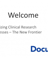 20 190x230 - Digitizing Clinical Research Processes The New Frontier OnDemand