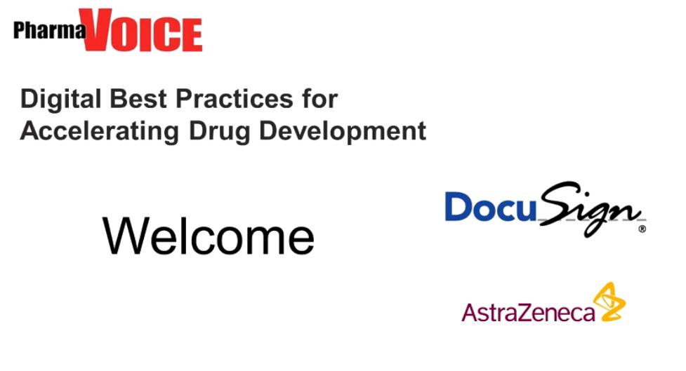 23 - PharmaVoice On-Demand Webinar- Digital Best Practices for Accelerating Drug Development