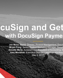 3 2 260x320 - Product Spotlight: DocuSign and Get Paid