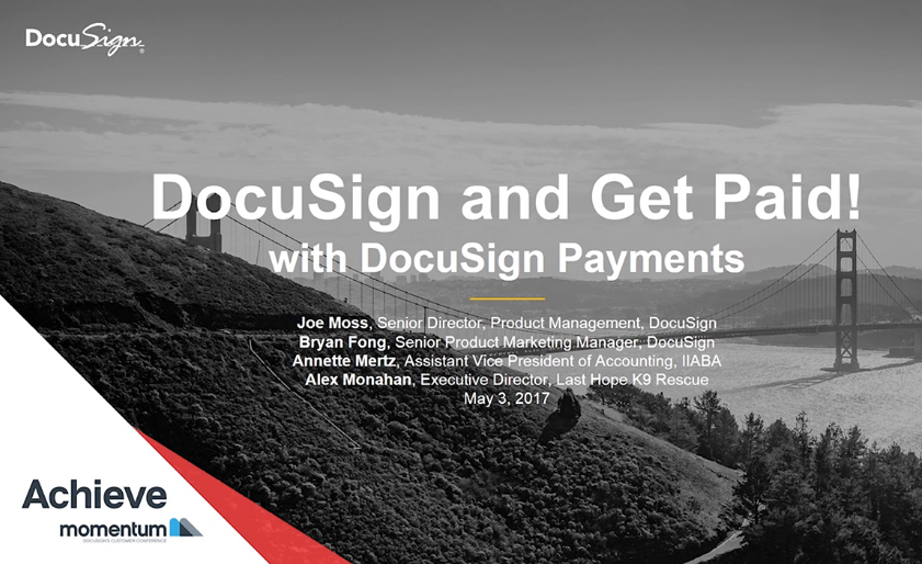 3 2 - Product Spotlight: DocuSign and Get Paid