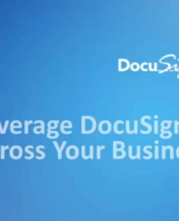 7 2 260x320 - How to Leverage DocuSign & Google Across Your Business