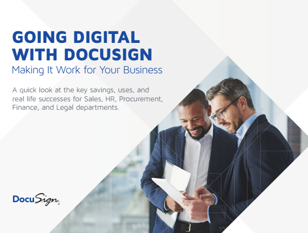 8 2 - Going Digital with Docusign Making It Work For Your Business