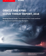 Screen Shot 2018 05 30 at 11.55.59 PM 190x230 - Oracle & KPMG Cloud Threat Report 2018