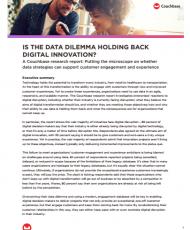 Is the data dilemma holding back digital innovation?
