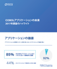 JAPANESE – THE FUTURE OF COBOL APPLICATIONS