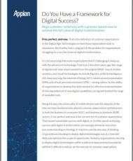 Do You Have a Framework for Digital Success?