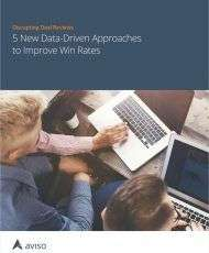 Deal Review Best Practices: Five New Data-Driven Sales Approaches to Improve Win Rates
