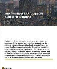 Why The Best ERP Upgrades Start with BlackLine