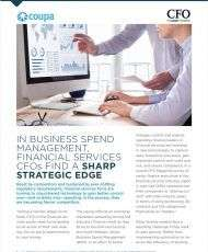 How CFOs are Finding a Sharp Strategic Edge through Business Spend Management