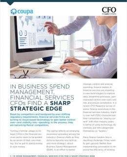 CFOs Find a Sharp Strategic Edge in Business Spend Management