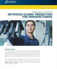 Optimized Global Production for Manufacturers