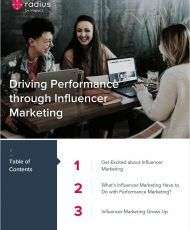 Driving Performance Through Influencer Marketing