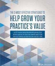 The 3 Most Effective Strategies to Help Grow Your Practice's Value
