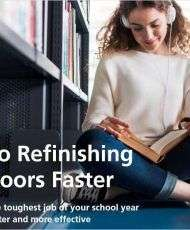 5 Steps to Refinishing School Floors Faster