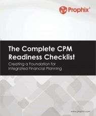 The Complete CPM Readiness Checklist