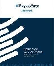 Static Code Analysis eBook