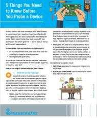 5 Things You Need to Know Before You Probe a Device