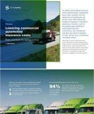 Lowering Commercial Automotive Insurance Costs