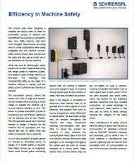 Efficiency in Machine Safety