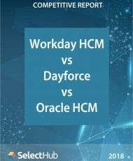 Workday HCM vs. Dayforce vs. Oracle HCM―Competitive Report