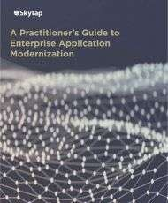 A Practitioner's Guide to Enterprise Application Modernization