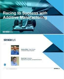 Racing to Success with Additive Manufacturing