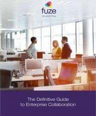 eBook: The Definitive Guide to Enterprise Collaboration
