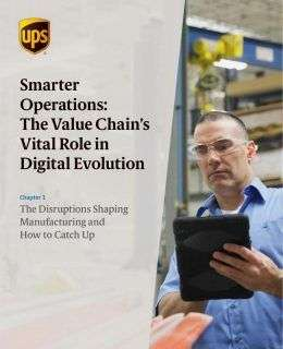 The Disruptions Shaping Manufacturing and How to Catch Up