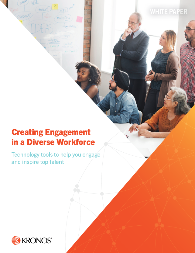Creating Engagement in a Diverse Workforce cover - Creating Engagement in a Diverse Workforce