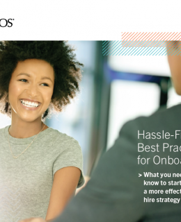 Hassle-Free Best Practices for Onboarding eBook