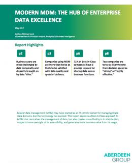 Modern MDM The hub of enterprise data excellence cover 260x320 - Modern MDM: The hub of enterprise data excellence