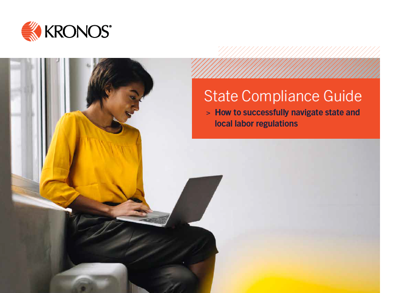 State Compliance Guide coverpage - State Compliance Guide