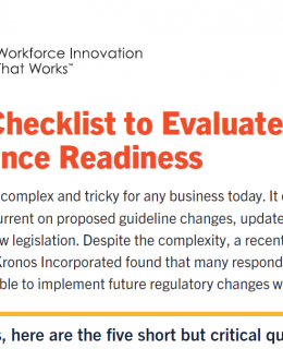 The 5-Point Checklist to Evaluate Your Compliance Readiness
