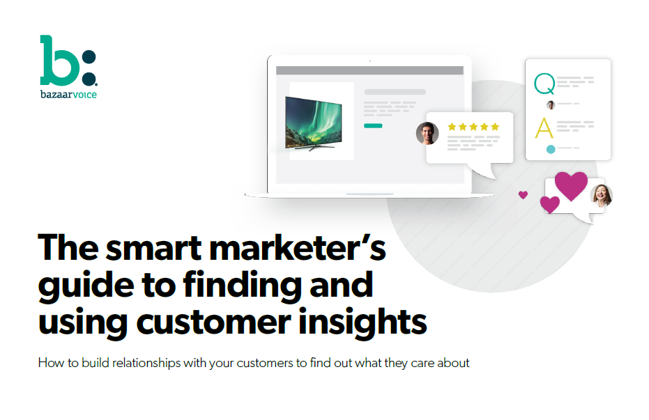 The Smart Marketer ebook cover - The smart marketer's guide to finding and using customer insights