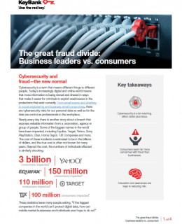 The great fraud divide Business leaders vs consumers