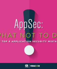 veracode app sec what not to do ebook