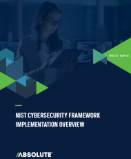 NIST Cybersecurity Framework Implementation cover 190x230 - NIST Cybersecurity Framework Implementation