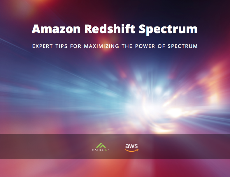 Expert Tips For Maximizing The Power of Amazon Redshift Spectrum