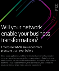 Will your network enable your business transformation Cover 190x230 - Will your network enable your business transformation?