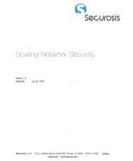 securosis scaling network security cover 190x230 - Securosis Report: Scaling Network Security