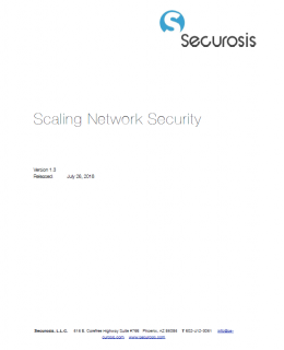 securosis scaling network security cover 260x320 - Securosis Report: Scaling Network Security