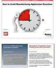 IndustryWeek eBook: Avoiding Manufacturing Application Downtime