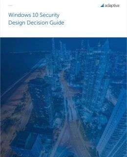 Windows 10 Security Design Decision Guide