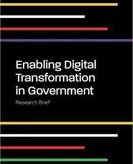 Research Brief: Enabling Digital Transformation in Government