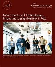 New Trends and Technologies Impacting Design Review in AEC