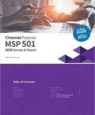 Channel Futures Releases the 2018 MSP 501 Report