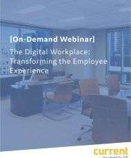 [On-Demand Webinar] The Digital Workplace