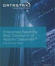 Enterprises Need the Best Distribution of Apache Cassandra™ and So Much More!
